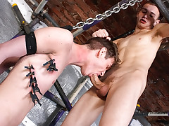 Punishing The Sexy Original Boy - Joey Costello And Reece Bentley